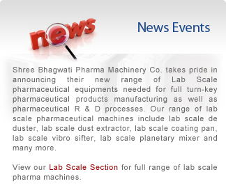 Pharma Machinery Company News & Events.