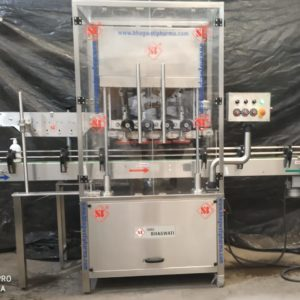 Linear Screw Capping Machine Model No. SBCS - 100LS GMP Model