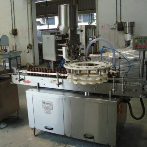 AUTOMATIC DRY SYRUP POWDER FILLING MACHINE – SBDPF-60