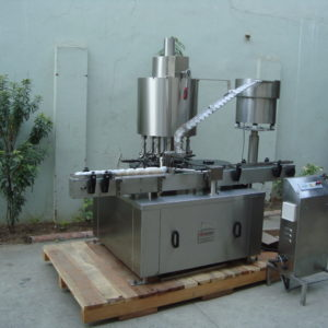Eight Head Plugging Machine Model No. SBCS - 200P GMP Model