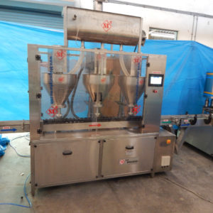 Four Head Auger Type Powder Filling Machine