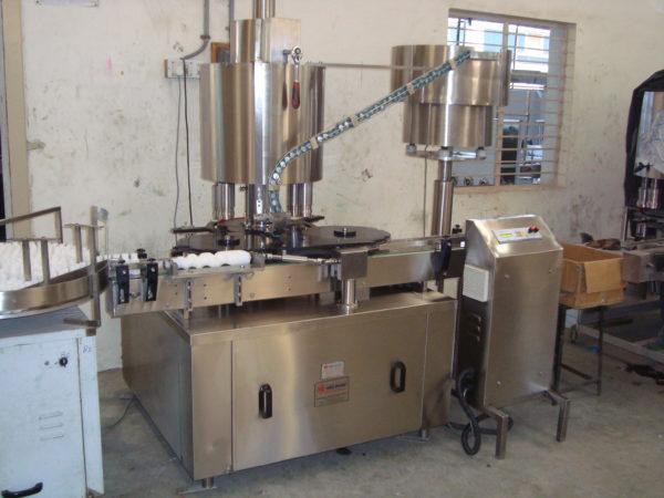 Four Head Plugging Machine Model No. SBCS - 100P GMP Model