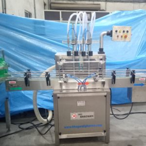 Eight Head Vertical Air-jet Cleaning Machine Model No. SBVAJC-120 GMP Model