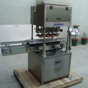Linear Screw Capping Machine Model No. SBCS - 150LS GMP Model