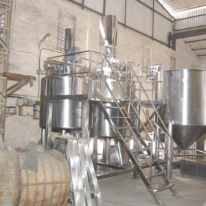 Ointment Manufacturing Plant/ Cream Manufacturing Plant