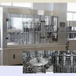 Rotary Rinsing, Filling and Capping Machine Model No. SBRFC-100 GMP Model