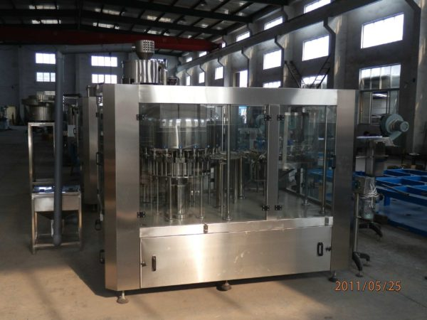 Rotary Rinsing, Filling and Capping Machine Model No. SBRFC-60 GMP Model