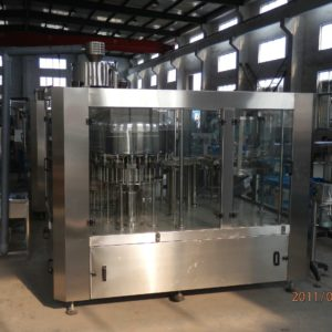 Rotary Rinsing, Filling and Capping Machine Model No. SBRFC-200 GMP Model