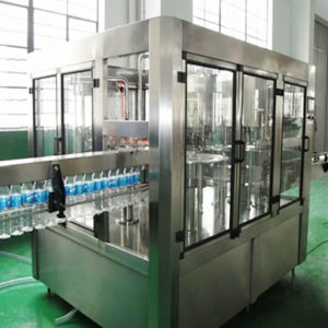 Rotary Rinsing, Filling and Capping Machine Model No. SBRFC-30 GMP Model