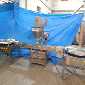 Automatic Single Head Auger Type Powder Filling Machine GMP Model
