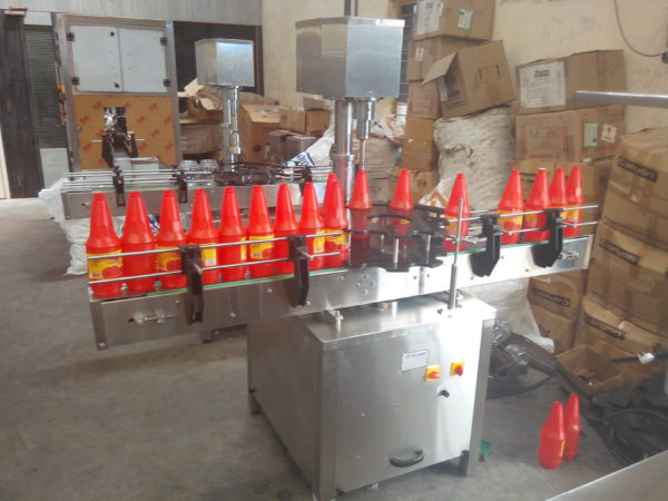 Single Head Plugging Machine Model No. SBCS - 60P GMP Model