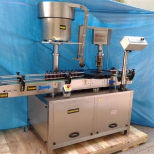 Single Head Ropp Cap Sealing Machine Model No. SBCS - 60R GMP Model