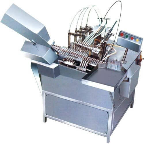 Six Head Ampoule Filling & Sealing Machine Model No. SBAFS - 150 GMP Model