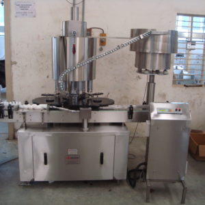 Six Head Plugging Machine Model No. SBCS - 150P GMP Model