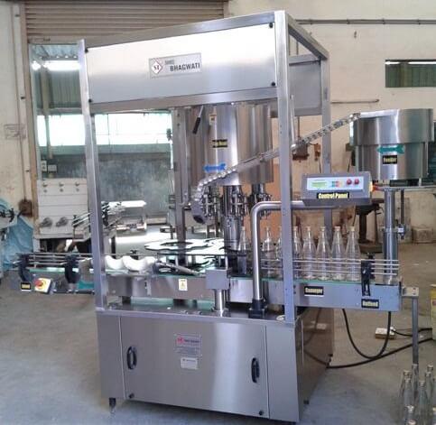 Six Head Ropp Cap Sealing Machine Model No. SBCS - 150R GMP Model
