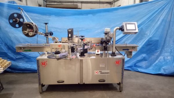 Automatic Top Labeling machine, Front and Back Sticker Labeling Machine