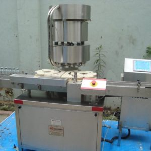 Vial Cap Sealing Machine Model No. SBCS-250V