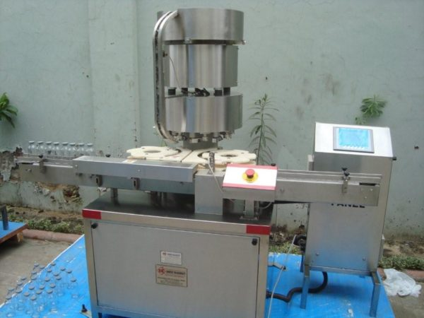 Vial Cap Sealing Machine Model No. SBCS-250V