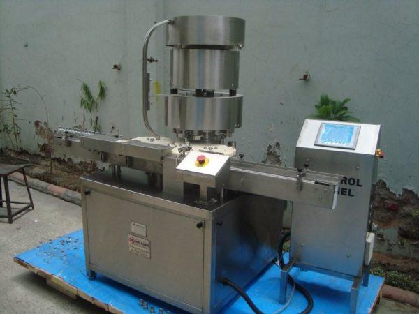 Vial Cap Sealing Machine Model No. SBCS-350V/450V
