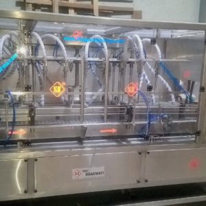 AUTOMATIC VOLUMETRIC FOUR HEAD OIL FILLING MACHINE MODEL SB VOLUFILL 4 X VF (2)