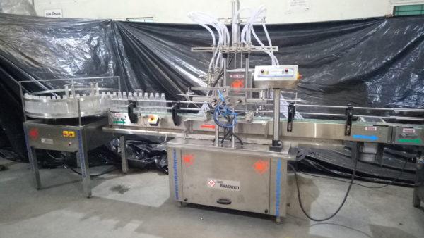 Automatic Volumetric Liquid Filling Machine SBLF-100
