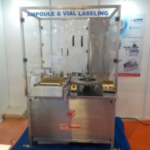 Automatic Ampoule and Vial Sticker (Self-Adhesive) Labeling Machine