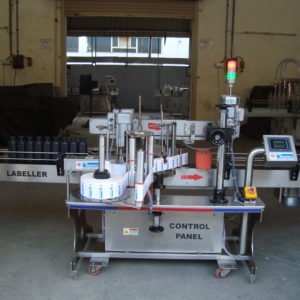 Automatic Double Side Flat Bottle (Front & Back) Sticker Labelling Machine SBSL-120DF