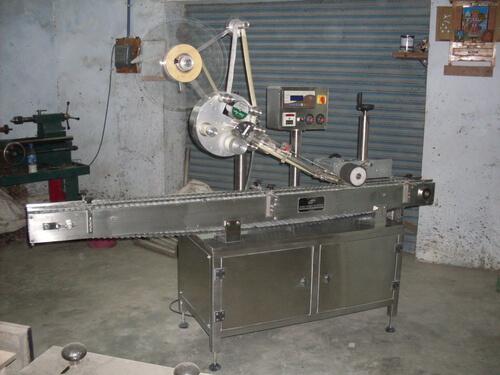 Automatic Horizontal Ampoule Sticker (Self-Adhesive) Labeling Machine
