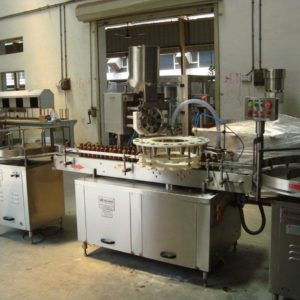 Rotary Monoblock 16x8 Dry Syrup Powder Filling & Capping Machine SBPFC-120R