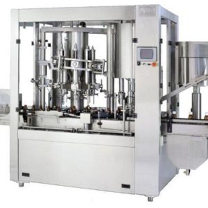 Rotary Monoblock Piston Filling Cum Screw Capping Machine SBRPM-8/8 GMP Model