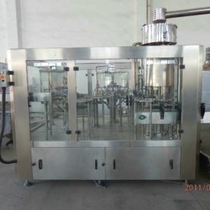 Rotary Rinsing, Filling and Capping Machine Model No. SBRFC-150 GMP Model