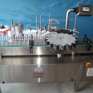 Rotary Sticker Labelling Machine for Rectangular or Square Shape Bottles - SB-60R