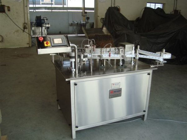 Self Adhesive Rotary High Speed Ampoule Labelling Machine Model No. SBRSL-100
