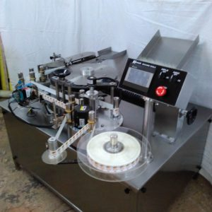 Self Adhesive Rotary High Speed Ampoule Labelling Machine Model No. SBRSL 300