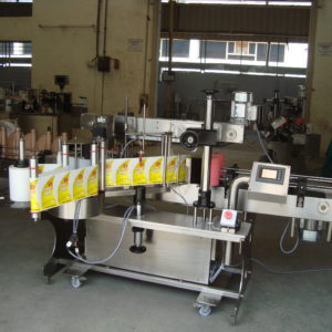 Self Adhesive Vertical Double Side (Front & Back) Sticker Labelling Machine Model No. SBSL - 120D GMP Model