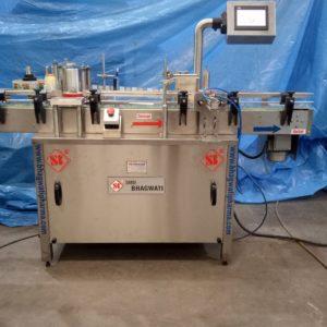 Automatic Self Adhesive Vertical Vial Sticker Labelling Machine SBSL – 120 GMP Model.