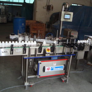 Automatic Self Adhesive Vertical Vial Sticker Labelling Machine SBSL - 150 GMP Model