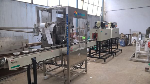 Shrink Sleeve Labelling Machine (Applicator) SB-SLEEVE-120 GMP Model