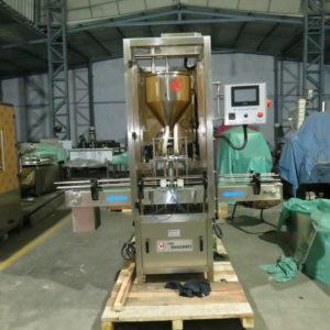 Single Head Cosmetic Cream Filling Machine / Lotion Filling Machine / Ointment Filling Machine Model No. SBCPF 45 GMP Model