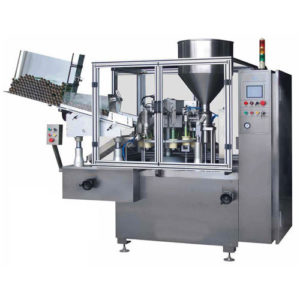 Single Head Tube Filling Sealing Machine Model No. SBTFS-50A GMP Model