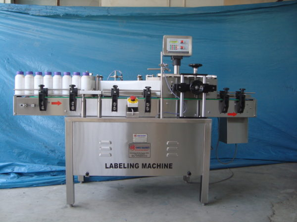 Automatic Sticker (Self - Adhesive) Labeling & Labeler Machine