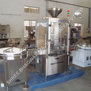 Automatic Tablet Counting & Filling Machine Model No. SBTCF-60 GMP Model