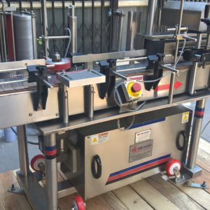Automatic Vertical High Speed Sticker Labeling Machine