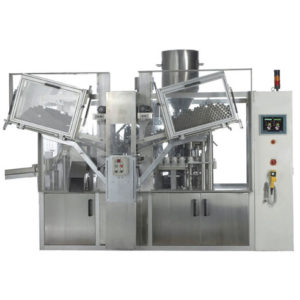 Automatic double Head Tube Filling Sealing Machine