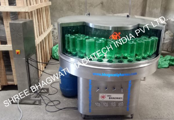 Rotary Bottle Washing Machine Model No  SBRW-200 GMP Model