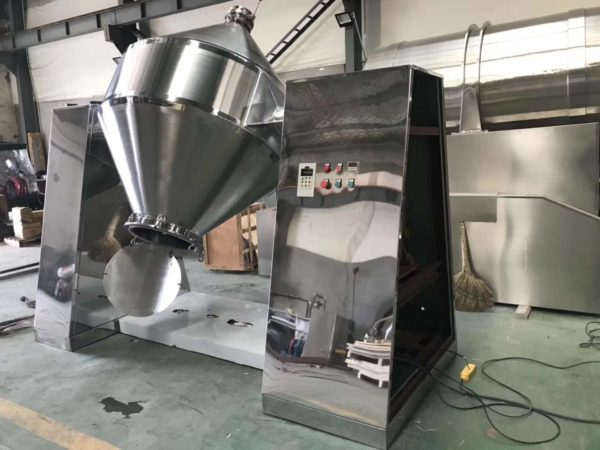 Powder Double cone blender machine