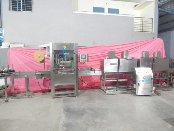 Shrinkable Label Inserting Machine (Applicator) SB-SLEEVE-250 GMP Model