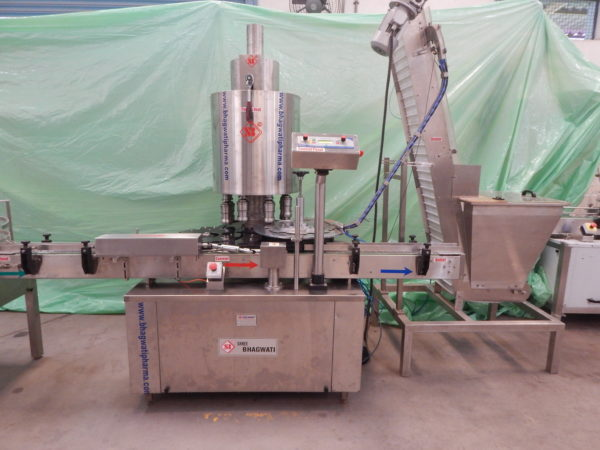 Multi Head Screw Capping Machine