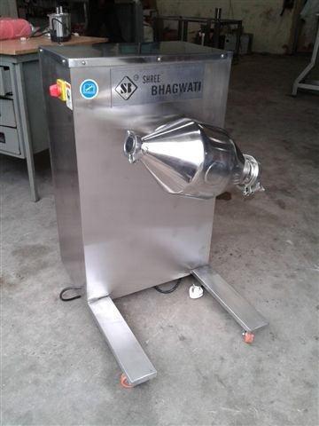 Double-Cone-Blender-Machine