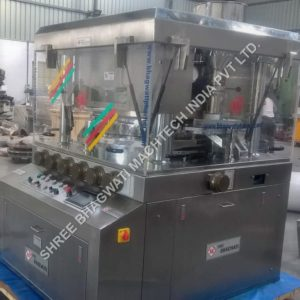 Double Rotary Tableting Machine - GMP MODEL